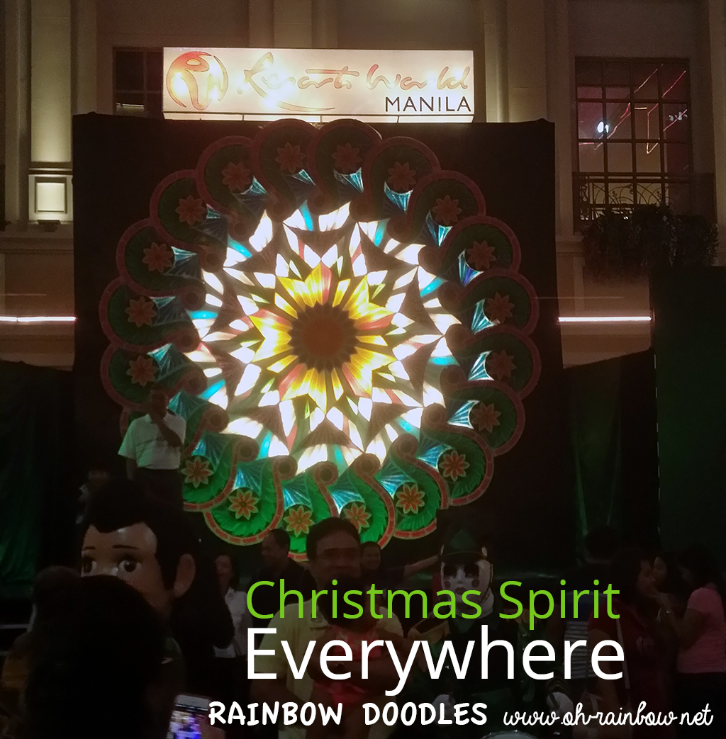 Christmas Spirit @ Resorts World Manila